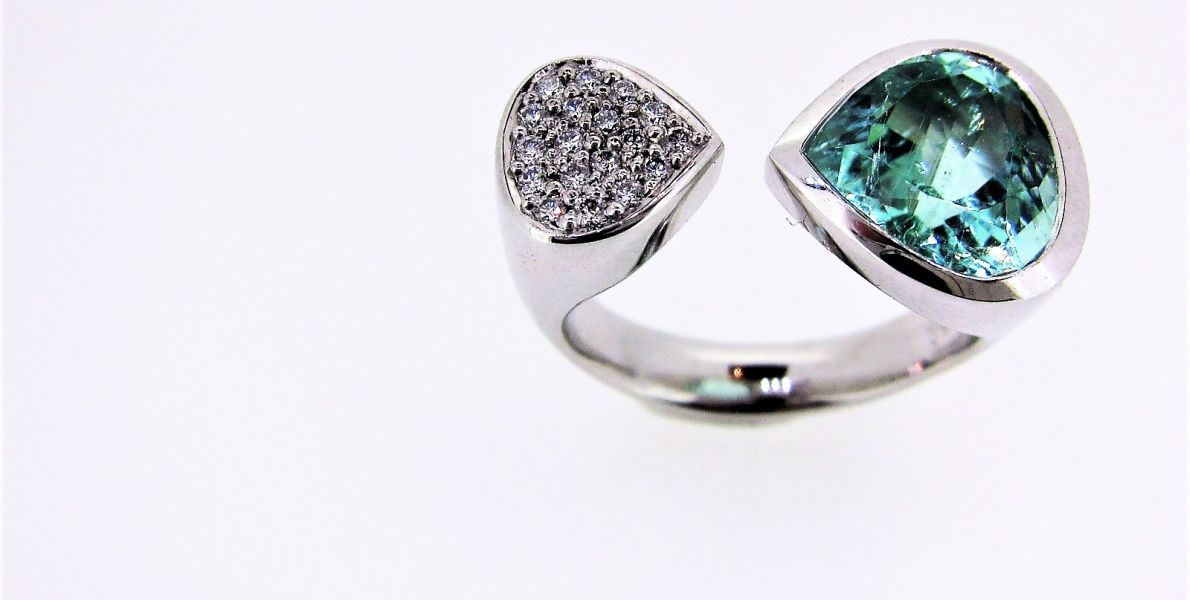 Paraiba Turmalin Ring